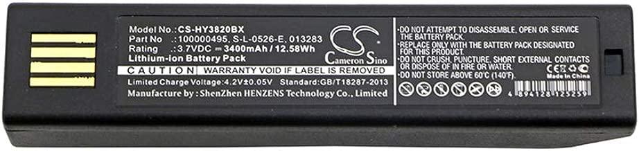 HONEYWELL Barcode Scanner Battery - TCHAN 3400mAh Li-ion KEYENCE HR-100 Replacement Battery Granit 1911i, Voyager 1202, Xenon 1902GHD