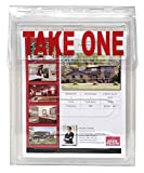 Outdoor Real Estate Brochure Box - Easy to Use Take One Document Holder Can Hold 200, 8.5 x 11 Documents, Flyers & Brochures or Other Outdoor Marketing Needs (1)