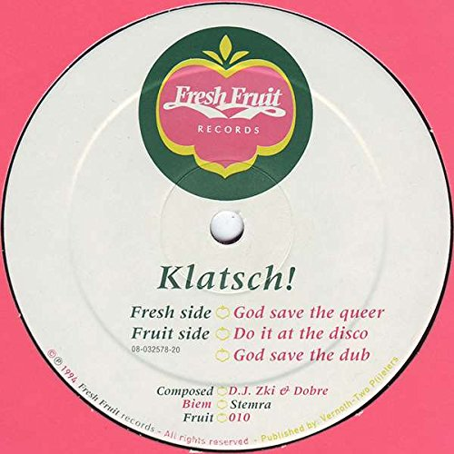 Klatsch! - God Save The Queer - Fresh Fruit Records