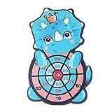 jiangye Juego de bolas adhesivas de seguridad para niños pequeños, con dibujos animados, para fiestas