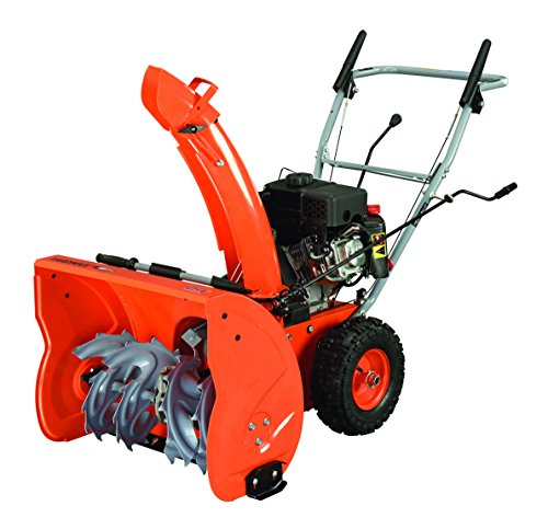 Review YARDMAX YB6270 Two-Stage Snow Blower, LCT Engine, 7.0HP, 208cc, 24