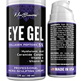 Best Eye Gel For Puffinesses - Micro-Sculpting Anti-Aging Eye Gel - Natural & Made Review