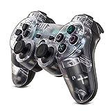 Xin Hai Yuan Controlador De Juegos Inalámbrico Bluetooth Gamepad para PS3 Playstation 3 SIXAXIS Controle PC Joystick con Agarre Antideslizante Dongle