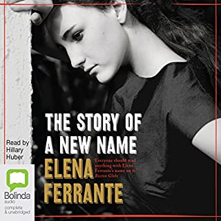 The Story of a New Name: The Neapolitan Novels, Book 2 cover art