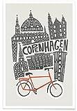 Juniqe® Kopenhagen Poster 40x60cm - Design