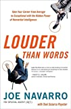 Image of Louder Than Words: Take Your Career from Average to Exceptional with the Hidden Power of Nonverbal Intelligence