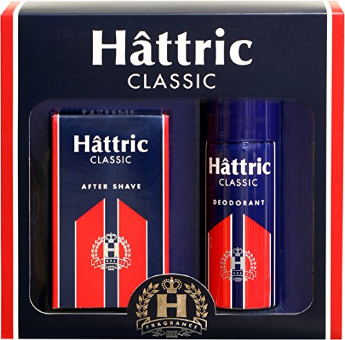 Hattric Classic Geschenkset, After Shave 100 ml + Deo Spray 150 ml