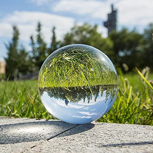 FISISZ 30Mm 40Mm Clear Crystal Ball Glass Ornaments Diy Crafts Display Decorative Balls Home Decor