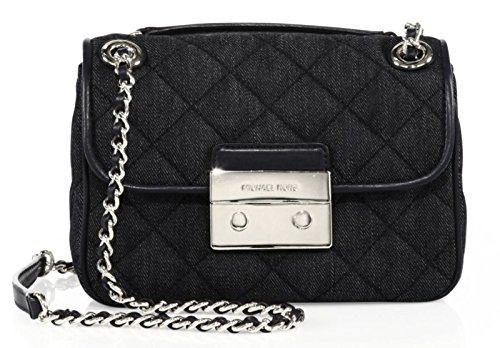 Strut your stuff with MICHAEL Michael Kors' large Sloan shoulder bag. It comes fabulously designed in quilted denim with a flashy chain-link strap you can wear crossbody-style or doubled at the shoulder. Talk about timeless texture—sumptuous quilted-...