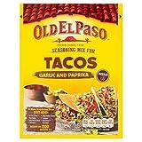 Vieux El Paso Taco Ail Assaisonnement Et Le Paprika 35G (Paquet de 6)