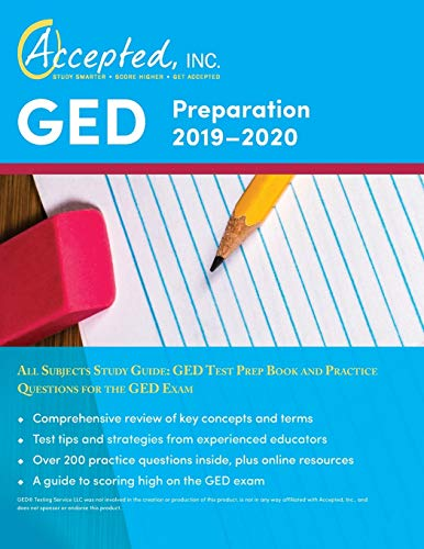 GED Preparation 2019-2020 All Subjects Study Guide: GED Test Prep Book and Practice Questions for th