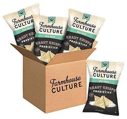 Farmhouse Culture Kraut Krisps, Sea Salt, 5 oz. Bags, 4 Count