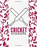 Cricket Scorebook: Cricket Score Sheets, Cricket Scorebook, Cricket Score Pads, Scorekeeping Book, Scorecards, Record Scorekeeper Book Gifts for Fans, ... Thanksgiving, Vacation, with 110 Pages.