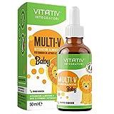 VITATIV® MULTI-V Baby | Integratore Multivitaminico per Bambini in...