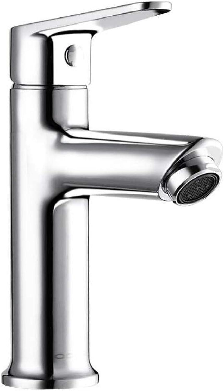 Faucetbathroom Faucet Washbasin Faucet Counter Basin Bathroom Hot and Cold Brass Bathroom Single Hole Faucet