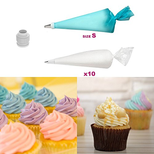 Cake Decorating Supplies By Innov8baking | New 45pcs Complete Cake Decorating Kit Includes Round Cake Stand, Piping Bags And Tips, And Other Baking Tools | All In One Tools With Instructions