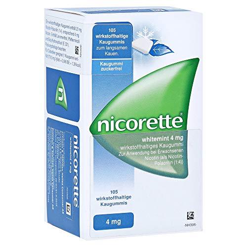 Nicorette 4mg whitemint Kaugummi 105 Stück