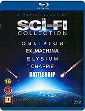 The Sci-Fi Collection 5-Disc Set ( Oblivion / Ex Machina / Chappie / Battleship / Elysium ) [ Blu-Ray, Reg.A/B/C Import - Denmark ]