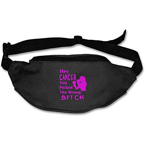 Jacque Dusk Sac Banane Fanny Pack Hey Cancer Pouch Belt Travel Pocket Sports De Plein Air
