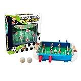 coil-c Mini tablero de mesa, futbolín, juego familiar, juego para niños, juego para niños, Navidad, regalo de cumpleaños