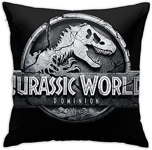 Jurassic Park III Kissenbezüge weiche dekorative Wurfkissenbezug für Büro Sofa Schlafzimmer Auto 18x18 Zoll