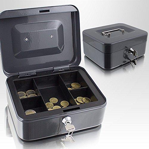 Caja de dinero de 20 cm, pequeña, se puede cerrar, para mon