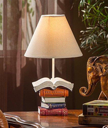 SZ&LAM Creative Lampe De Livre De Lampe Chambre d'enfants Chambre Lampe De Chevet Appartement Lampe De Table