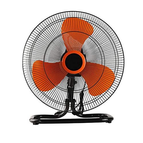 WJY Ventilador de Piso Portátil, 120W Mini Ventilador Eléctrico Ventilador Industrial de Alta Potencia para El Hogar, Escritorio de Oficina