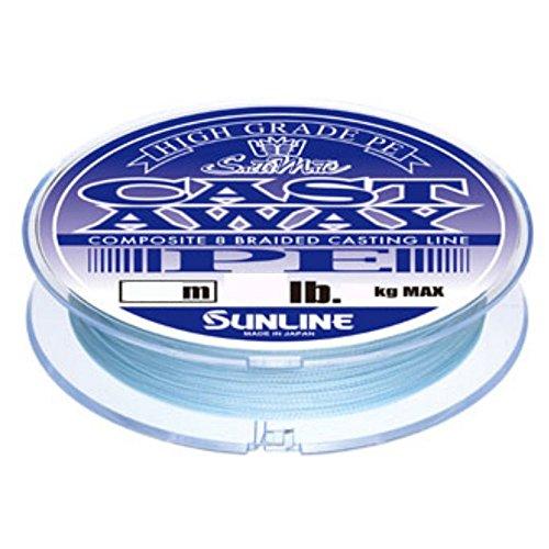サンライン(SUNLINE) PEライン ソルティメイト キャストアウェイ 200m 30lb パールブルー