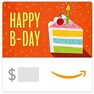 Amazon eGift Card - Birthday Cake (B07WYVVM9G) | Amazon price tracker / tracking, Amazon price history charts, Amazon price watches, Amazon price drop alerts