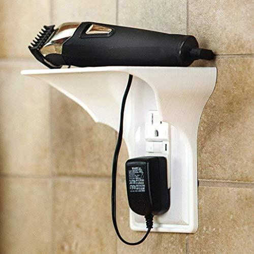 SIRIGOGO Estante de Salida de Pared de fácil instalación para baños, cocinas, dormitorios, dormitorios y garajes