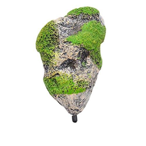 Aquarium Schwimmenden Felsen Ausgesetzt Steine künstliche Dekoration - M