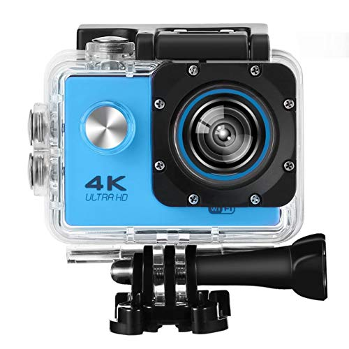 SJ60 Impermeable 4K WiFi HD 1080P Cámara de acción Ultra Deportiva DVR CAM Videocámara (Color: Azul)