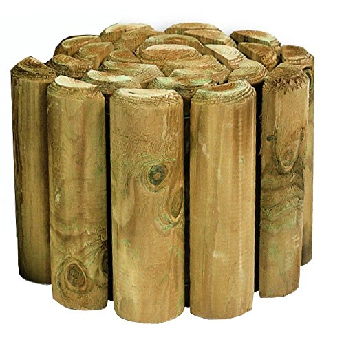 Lawn Edging - Log Roll 1.8m x 15cm