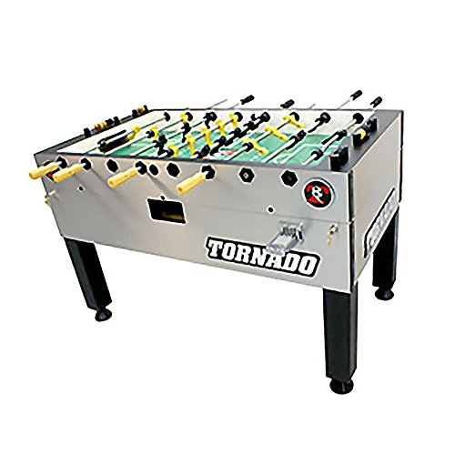 Read About Tornado T-3000 Coin-Op Foosball Table - 3 Goalies