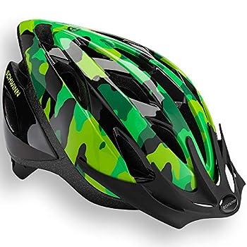Schwinn Thrasher Bike Helmet Lightweight Microshell Design Child Green Camo