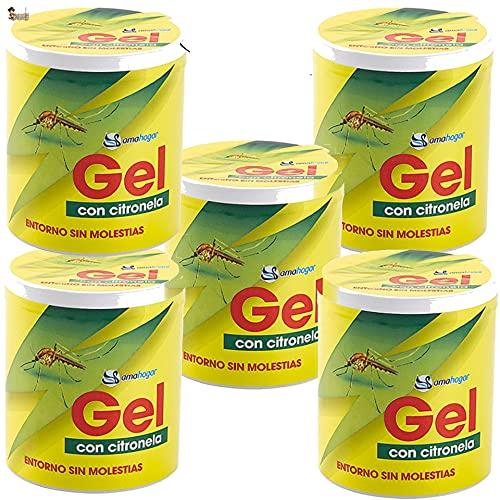 BricoLoco Citronela Repelente antimosquitos. Ambientador. Más cómodo y Seguro Que Velas o aceites. Ahuyentar Mosquitos en Interior o Exterior. Protección Natural. (5)
