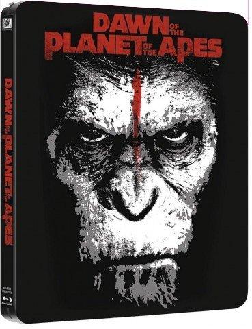 Dawn of the Planet of the Apes 3D (Planet der Affen - Revolution) Blu-Ray 3D +2D (2discs) STEELBOOK (EU-Import ohne dt. Tonspur)