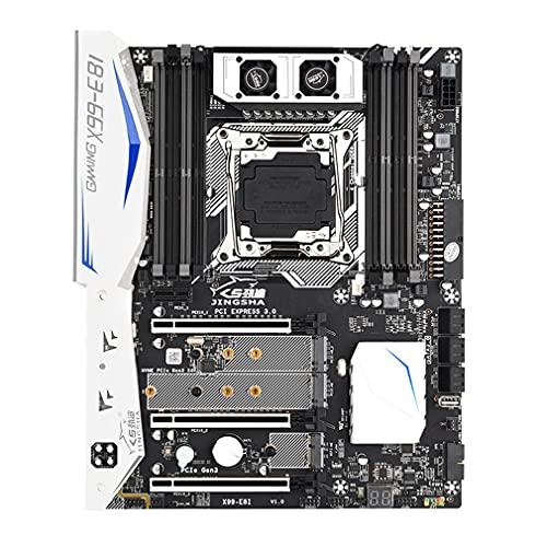 DAMAJIANGM X99-E8I Procesador Placa Base de computadora DDR4 Memoria LGA 2011V3V4 Placa Base 302 mm * 244 mm Negro 302 mm * 244 mm