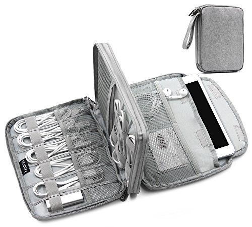 boona elektronischer organizer doppellagige reisetasche