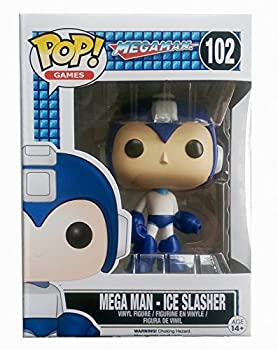 Funko Pop Games Mega Man Ice Slasher Exclusive Variant Vinyl Figure by Megaman