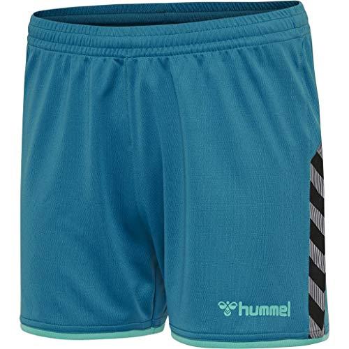 hummel Damen hmlAUTHENTIC Poly Shorts Woman, Celestial, XL