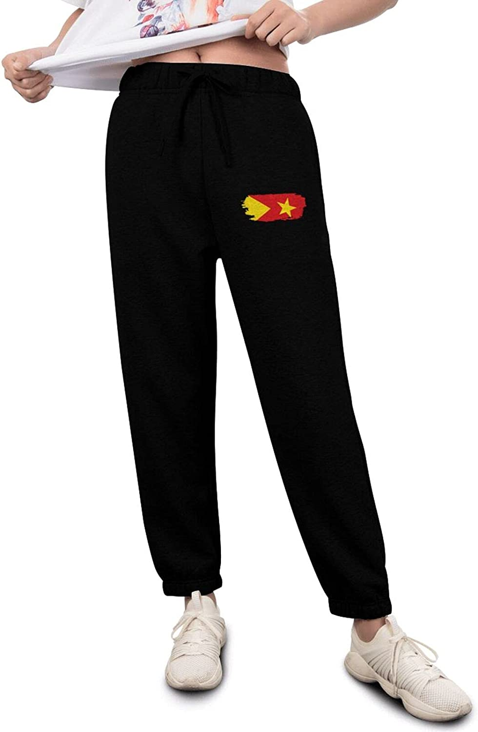 Tigray Flag Women's Limited time sale Lightweight Breathable Relaxed Workout Pants Luxury goods