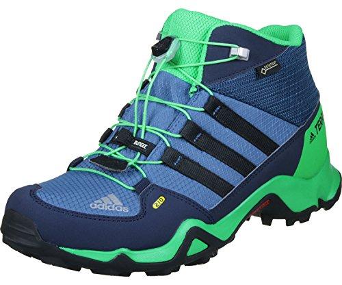 adidas Terrex Mid GTX Kids - core Blue/core Black/Energy Green