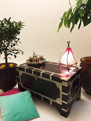 Marrakesch Orient & Mediterran Interior ® Indischer Truhentisch Vimalaa - 80cm - 6