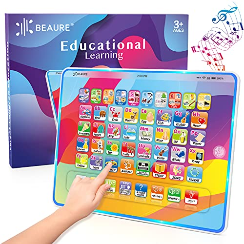 12 in 1 Educational Toddler tablet with Light Only $10.99 (Retail $19.99)