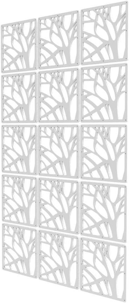 Free shipping on posting reviews 15 Pcs DIY Room Divider - 34 Max 71% OFF Screen White Divid x 57 inch