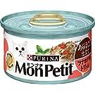 モンプチ 缶 成猫用 あらほぐし仕立て ツナのグリル トマト入り 85g×24缶入り (ケース販売) [キャットフード]
