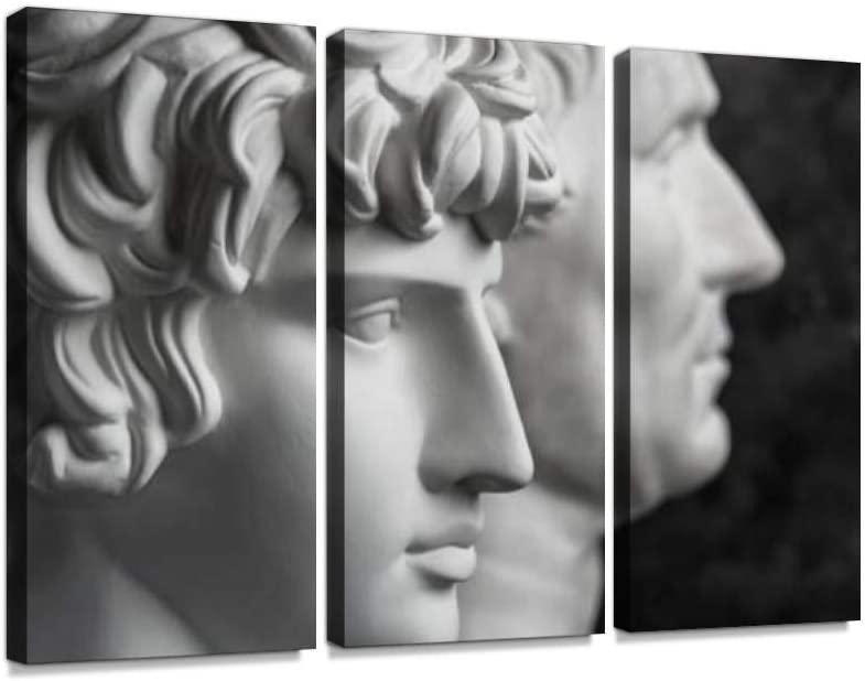 Safety and trust BELISIIS Gypsum Copy of Purchase Ancient Antinous Hea Augustus Statue and