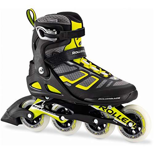 Rollerblade Skates MACROBLADE 90 Aluminium, Erwachsene, Unisex, Schwarz, 42 1/2